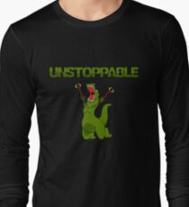 Unstopable T-rex Long Sleeve T-Shirt