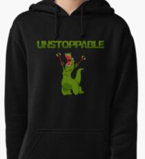 Unstopable T-rex Pullover Hoodie