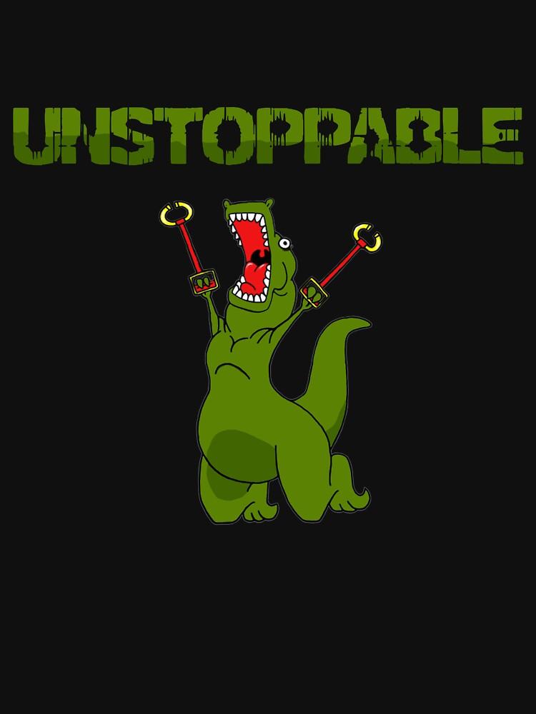 Unstopable T-rex | Unisex T-Shirt