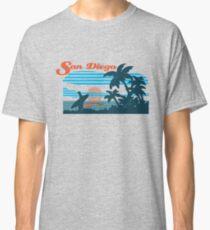 San Diego Surf Scene Classic T-Shirt