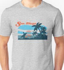 San Diego Surf Scene Unisex T-Shirt
