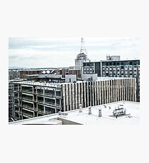Downtown Cityscape Photographic Print