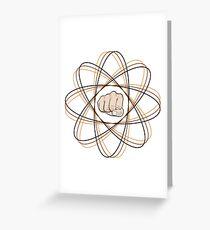 Atomic Punch Greeting Card