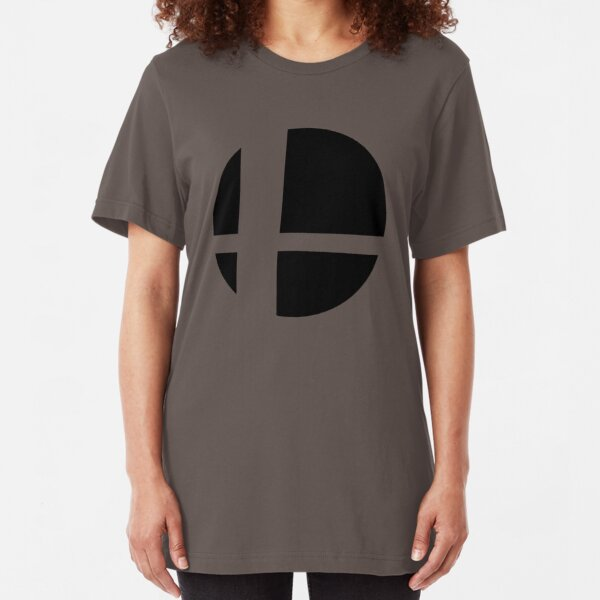 Logotipo de Super Smash Camiseta ajustada