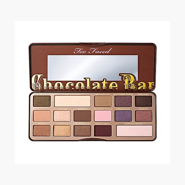 Too Faced Chocolate Bar Palette Photographic Print