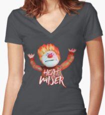 Heat Miser Women's Fitted V-Neck T-Shirt