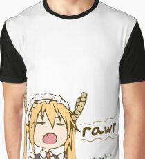 Tooru says Rawr Graphic T-Shirt