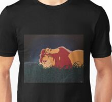 Mufasa and Young Simba Unisex T-Shirt