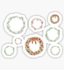 Winter Wreaths Sticker Set Sticker