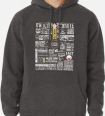 The Wise Words of Dwight Schrute (Dark Tee) Pullover Hoodie