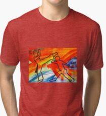 capoeira Tri-blend T-Shirt