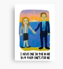 Jim and Pam's Wedding Gift Canvas Print