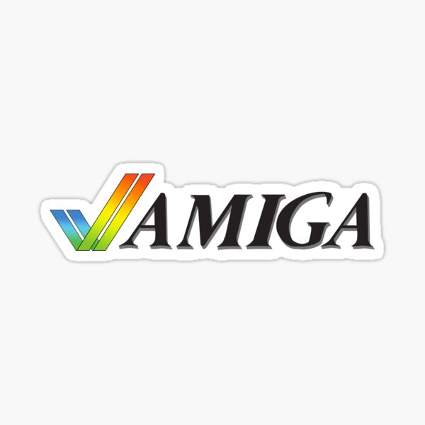 Amiga (Vector Recreation) Sticker