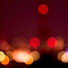 Abstract Bokeh Lights I by Beverly Claire Kaiya