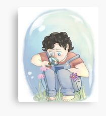 Young Sherlock Canvas Print