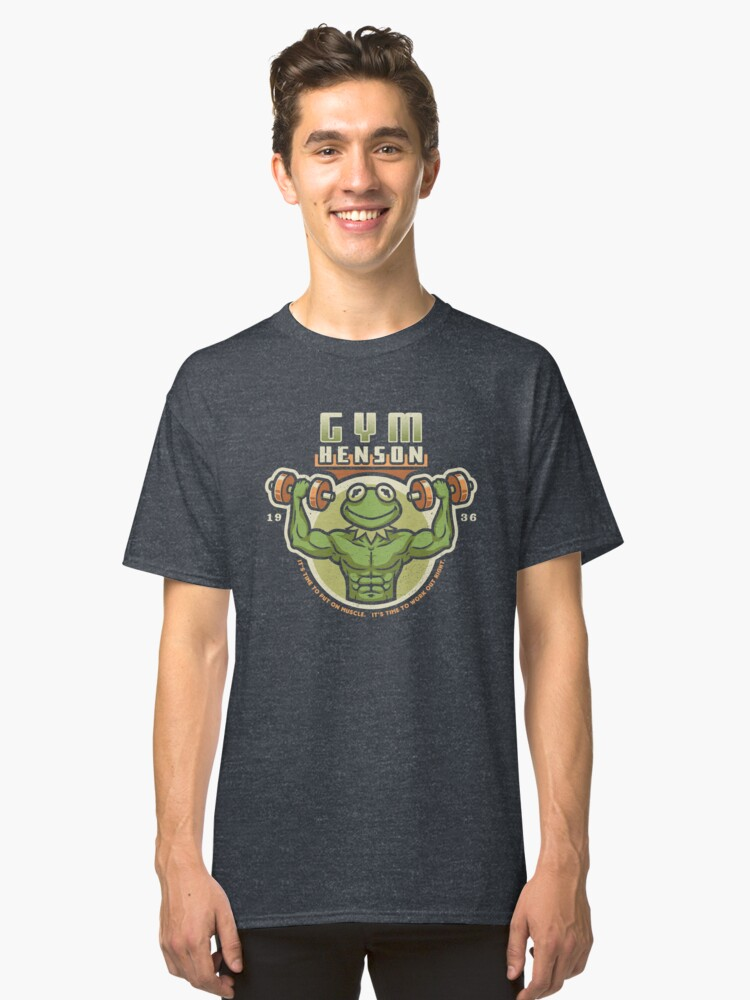 Gym Henson Classic T-Shirt Front