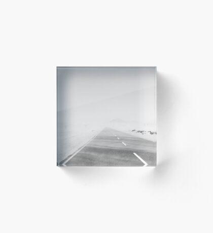 Travelling the Desert Acrylic Block