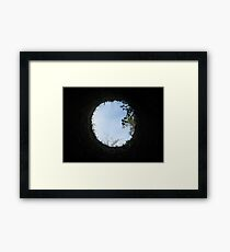 Skyview at the Blarney Castle  Framed Print