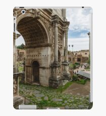 Arch of Septimius Severus iPad Case/Skin