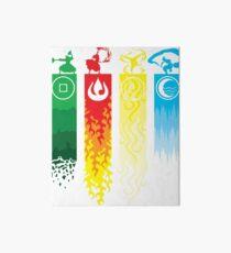 Avatar- Four Elements Art Board