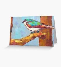 Bird xy Greeting Card