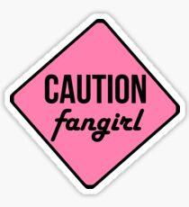 Caution 2 Tshirt Sticker