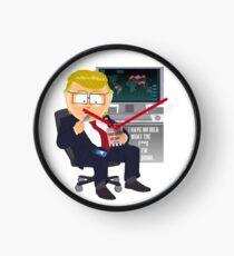Garrison Trump Clock