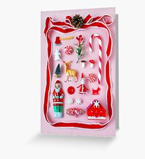 Holiday Miniatures Greeting Card