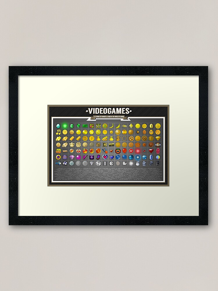 Alternate view of Currency  Framed Art Print