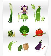 Veggie Army Poster