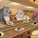Sushi Bar by Jiaqihe