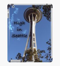 High in Seattle iPad Case/Skin