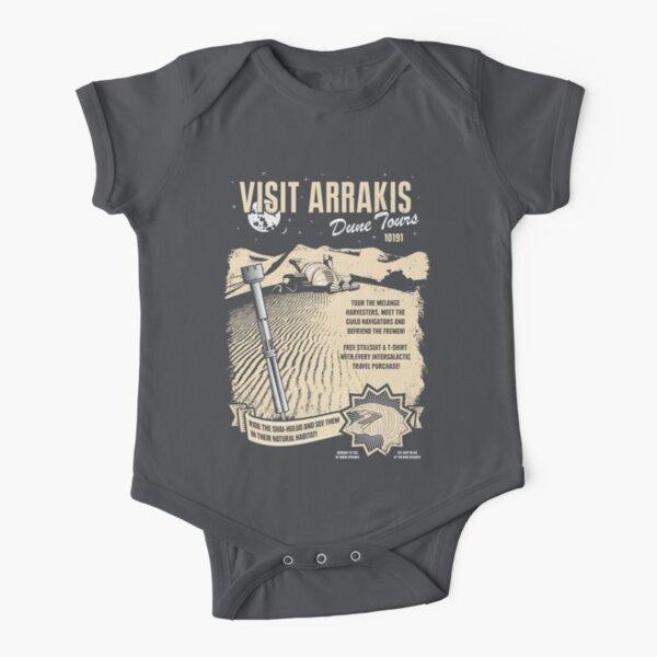 Visit Arrakis Short Sleeve Baby One-Piece