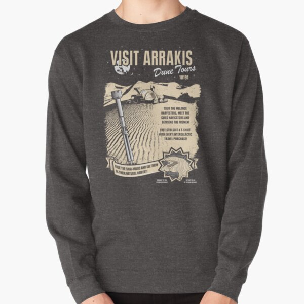 Visit Arrakis Pullover Sweatshirt