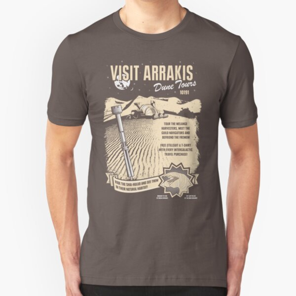 Visit Arrakis Slim Fit T-Shirt