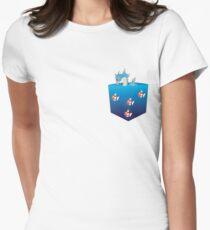 Gyarados&Magikarp pokemon Womens Fitted T-Shirt