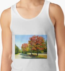 Autumn Trees Tank Top