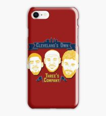 CLE's 3 Company iPhone Case/Skin