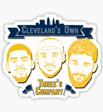 CLE's 3 Company Sticker