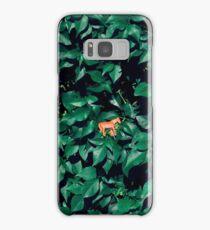 Orange horse in the bush Samsung Galaxy Case/Skin