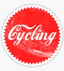 Cycling Chainring Sticker