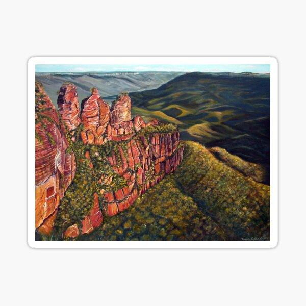 Blue Mountains, Australia Sticker