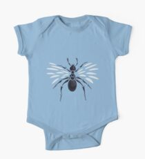 Weird Abstract Flying Ant One Piece - Short Sleeve