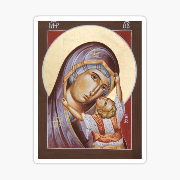 Theotokos Kardiotissa Sticker