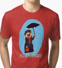 Mary Puggins Tri-blend T-Shirt