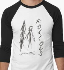 Slender - 4/8 Men's Baseball ¾ T-Shirt