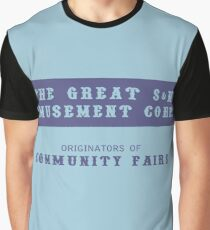 The Great S&M Amusement Corp. (Ace in the Hole) Graphic T-Shirt
