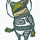 Spacesuit Frog by obinsun