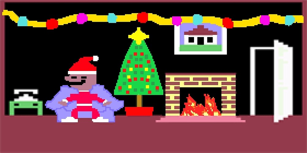Little Computer People Christmas by nineplanfailed