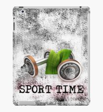 SPORT TIME iPad Case/Skin